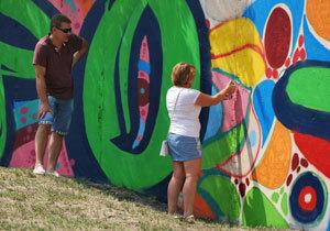 В Днепре завершился Фестиваль муралов