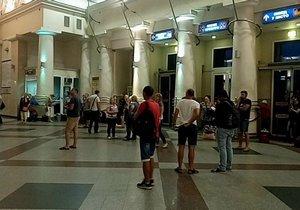 Получи ответ: почему были задержаны поезда в направлении Днепра