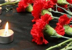 В Терновке похоронили убитого в перестрелке в Днепре Алексея Вагнера