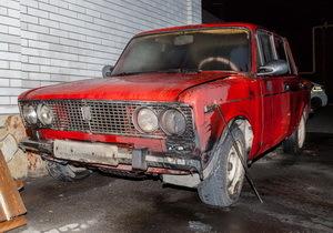 В Днепре возле «Мушкетера» подожгли автомобиль