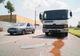 На Набережной Заводской грузовик фирмы «Геркулес» въехал в BMW X5