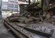 В Днепре возле «МОСТ-Сити» на проезжую часть обрушился заброшенный  дом