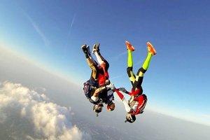 В Майском прошел чемпионат Украины по парашютным видам спорта