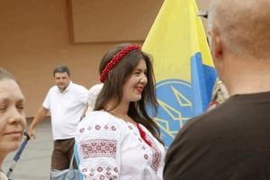 «Под флагом свободы» - в Днепре прошел патриотический флешмоб