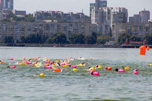 У Дніпрі вперше провели змагання з плавання на відкритій воді «Dnipro Swim Race»