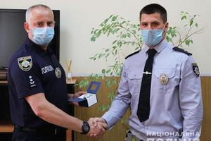 По случаю профессионального праздника в полиции Днепропетровской области наградили лучших сотрудников