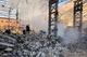 В Днепр горел мусор на 160 «квадратах» в неэксплуатируемом сооружении