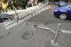 В Днепре на Вернадского фура снесла защитные столбики (видео момента)