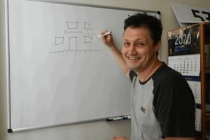 Главный художник Днепра Сергей Белый: «Верю, что город заживет в ритме Дизайн-кода!»