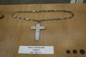 У Дніпровській міськраді відкрили археологічну експозицію, присвячену розкопкам церкви Святого Лазаря