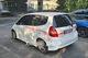 В Днепре неизвестные обрисовали краской автомобили на парковке