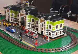 В Днепре построят самую длинную в Украине железную дорогу из LEGO