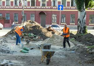 Как в Днепре реконструируют улицу Столярова