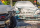 В Днепре возле заправки из-за столкновения с Lada загорелся Lanos: пострадали мужчина и женщина