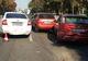 В Днепре на Набережной столкнулись 4 машины: в одном из авто был ребенок