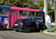 В Днепре возле речпорта Audi не поделил дорогу с трамваем