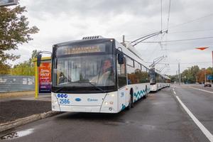 В Днепре вскоре появятся новые белорусские троллейбусы