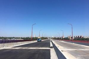 Реконструкция Нового моста в Днепре завершена на 95%, - заммэра