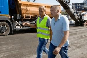 Борис Филатов показал, что происходит на перекрытом Центральном мосту