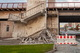 В Днепре разрушили ступени, ведущие к Центральному мосту