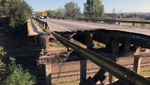 В Харькове обрушился мост: появилась реакция Бориса Филатова