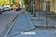 На  улицах Олеся Гончара и Жуковского ремонтируют тротуары и карманы для парковки