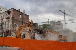 В Днепре снесли старинный особняк, который обещали сохранить и реконструировать
