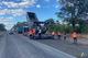 Трассу Кропивницкий-Кривой Рог ремонтируют 4 бригады дорожников и более 50 единиц спецтехники