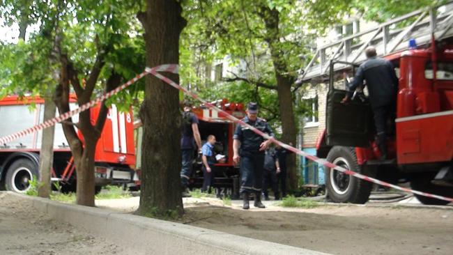 Напроспекте Героев вДнепре обнаружили мужское тело впожаре