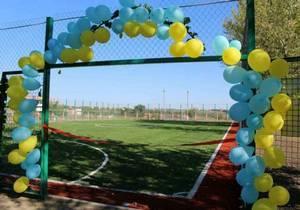 Современное поле для мини-футбола открыли в селе Степовое Днепропетровской области