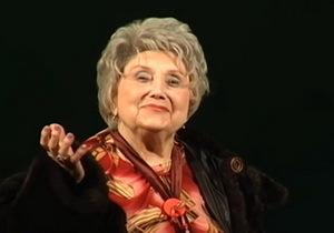 Народная артистка Людмила Вершинина стала почетным гражданином Днепра