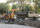 В Каменском ремонтируют улицу, которую не обновляли полвека