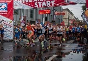 В Днепре определили победителей Чемпионата Украины по марафонскому бегу среди взрослых