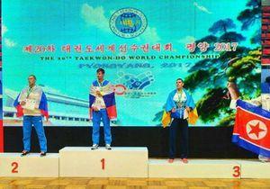 Дніпровський спортсмен виборов три бронзові медалі на Чемпіонаті світу з таеквон-До