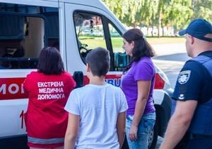 В Днепре на Поля ВАЗ сбил 10-летнего мальчика на пешеходном переходе