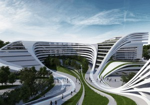 Метро в Днепре построит команда Захи Хадид: как выглядят самые известные проекты компании