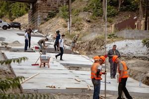 Капитальный ремонт Крестьянского спуска в Днепре планируют завершить досрочно