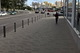 Тротуар на ул. Владимира Великого защитили столбиками