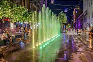 Световые фонари и медиа-экран: как выглядит улица Короленко после реконструкции в Днепре