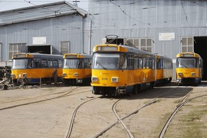 В Днепр прибыла вторая партия трамваев из Лейпцига