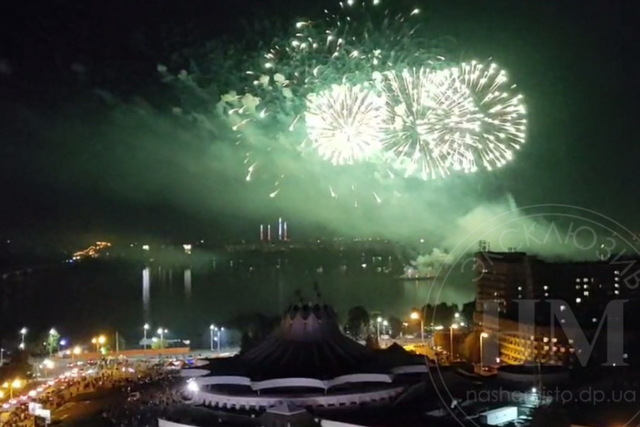 Феерия огня и света: День города завершился самым масштабным в мире лазерным шоу и салютом
