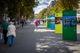 Знаковые люди, события и места «застыли» на снимках: в Кривом Роге установили фотостенды, посвященные независимости Украины