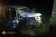 На Днепропетровщине водитель не справился с управлением на скользкой дороге и врезался в электроопору
