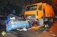 На проспекте Гагарина Mitsubishi врезался в мусоровоз: 3 человека пострадали, погибла  девушка