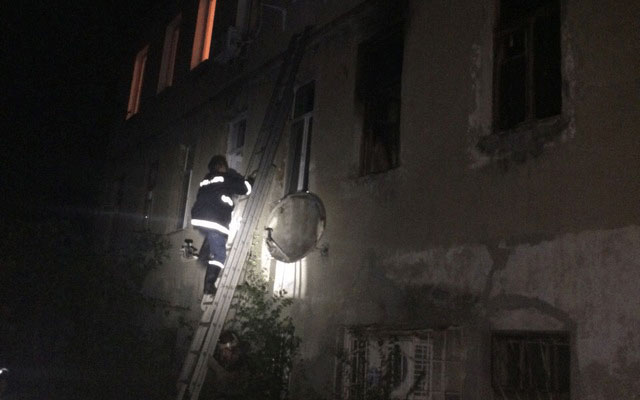 ВДнепре впроцессе ликвидации пожара спасли 5 человек