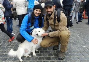 В Днепре прошел всеукраинский марш за права животных