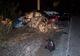 Погоня и ДТП на Запорожском шоссе: Honda вылетела с дороги