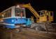 На Кайдакском мосту сломался трамвай: сорвало мотор