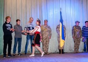 День призывника: В Самарском районе Днепра провели юношей в ряды ВСУ