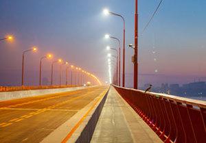 В Днепре открыли отремонтированную часть Центрального моста
